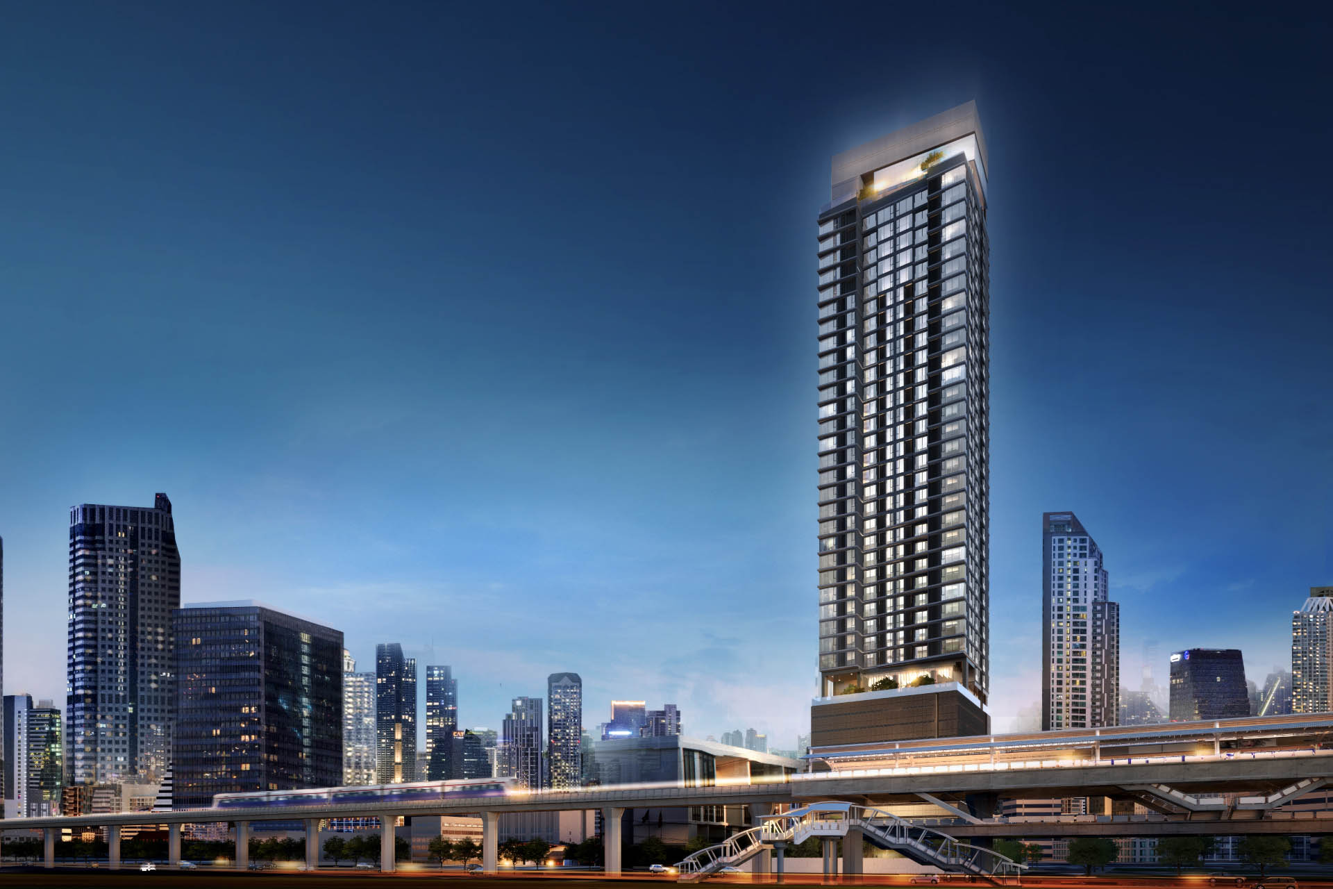 the luxury condo with easy access to public transports - Anil sathorn 12  (อนิล สาธร 12)